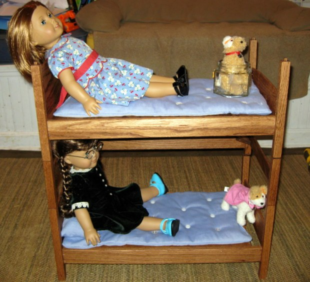 american girl doll bunk bed plans free